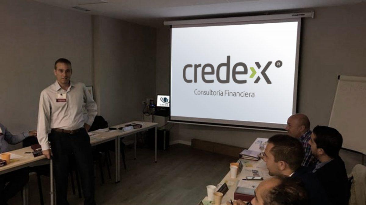 Presentación de CREDEX en nuestro grupo de BNI