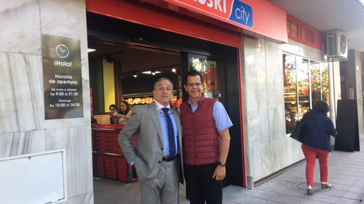 Inauguración de una nueva franquicia Eroski city